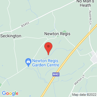 Clay Pigeon Shooting Newton Regis Location Map