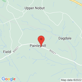 Quad Biking Uttoxeter, Staffordshire Location Map