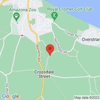 Karting Cromer, Norfolk Location Map