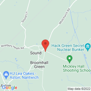 Clay Pigeon Shooting Crewe, Cheshire Location Map