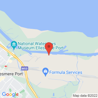 Karting Ellesmere Port, Merseyside Location Map