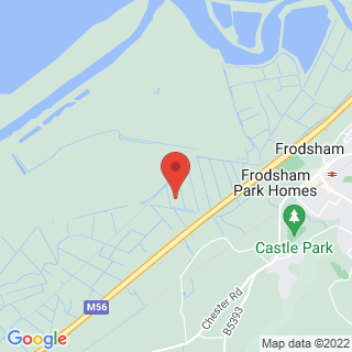 Clay Pigeon Shooting Frodsham, Cheshire Location Map