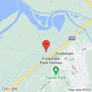 Off Road Karting Frodsham, Cheshire Location Map
