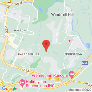 Snowboarding Runcorn, Cheshire Location Map