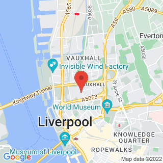 Indoor Paintball Liverpool Location Map