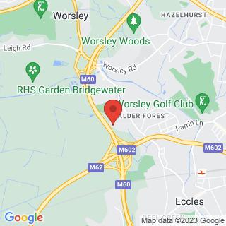 Quad Biking Eccles, Nr Manchester Location Map