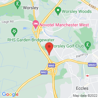 Clay Pigeon Shooting Eccles, Nr Manchester Location Map