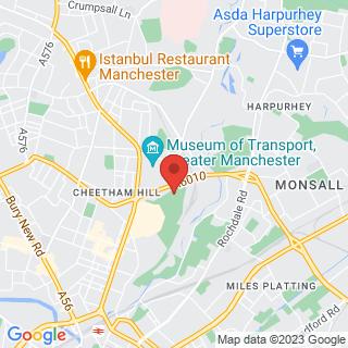 Combat Archery Manchester Location Map
