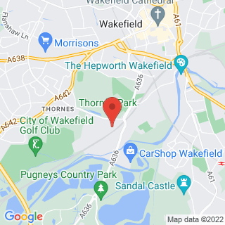 Karting Wakefield, West Yorkshire Location Map