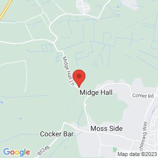 Paintball Preston Location Map
