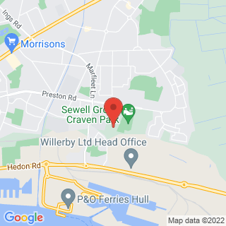 Karting Hull Location Map