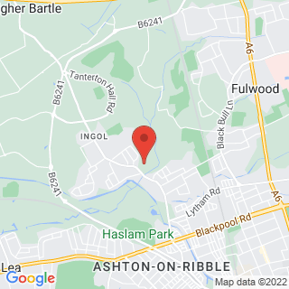 Bubble Football Preston Location Map