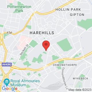 Karting Leeds Location Map
