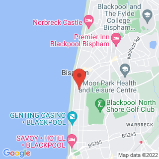 Karting Blackpool - North  Location Map
