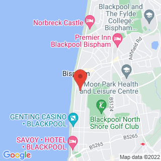 Karting Blackpool - North  Location Map