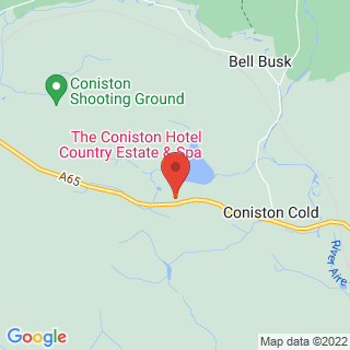 Clay Pigeon Shooting Skipton, North Yorkshire Location Map