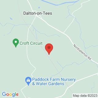 Paintball Darlington Location Map