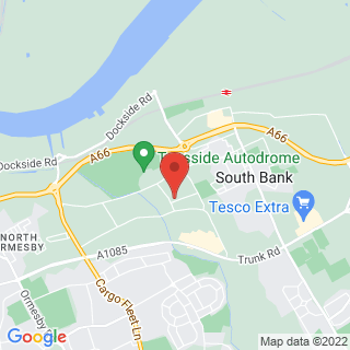 Karting Middlesbrough, Teesside Location Map