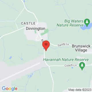 Clay Pigeon Shooting Dinnington, Newcastle Upon Tyne Location Map
