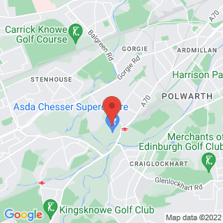 Bubble Football Edinburgh Location Map