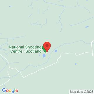 Clay Pigeon Shooting Cumbernauld, Nr Falkirk Location Map