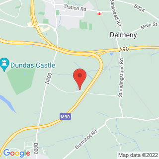 Paintball Edinburgh - Queensferry Location Map