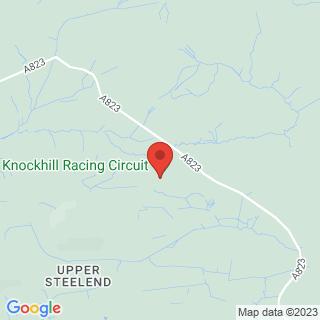 Karting Dunfermline, Fife Location Map