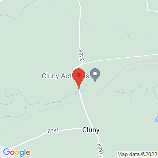 Clay Pigeon Shooting Kirkcaldy, Fife Location Map