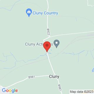 Clay Pigeon Shooting Kirkcaldy, Fife Location Map