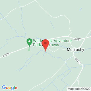 Paintball Inverness - Munlochy Location Map