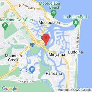 Tours MOOLOOLABA Location Map
