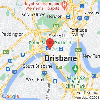 Eco Tour Brisbane Location Map