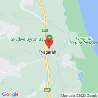 Hot Air Ballooning Byron Bay, QLD Location Map