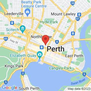 Eco Tour Perth Location Map