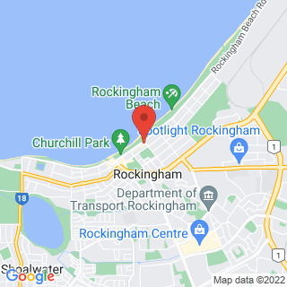 Flyboarding Jetpack Perth Location Map