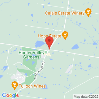 Hot Air Ballooning XPokolbin, NSW Location Map