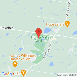 Hot Air Ballooning Pokolbin, NSW Location Map