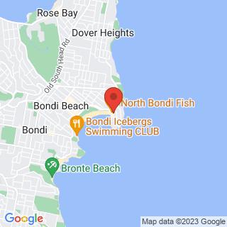 Surfing Let's Go Surfing Bondi Beach Location Map