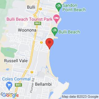 Surfing Happy Days Surf School Location Map