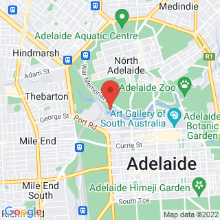 Segway Adelaide Location Map