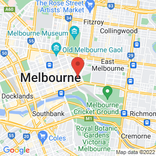 Hot Air Ballooning Melbourne Location Map