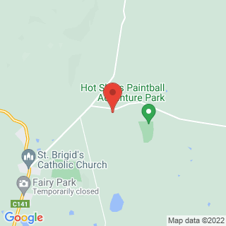 Paintball Anakie, Victoria Location Map