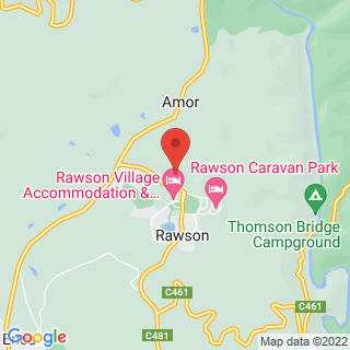 Paintball Rawson, VIC Location Map