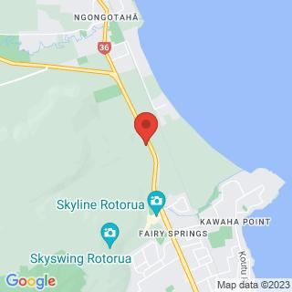 Sphereing OGO Rotorua Location Map