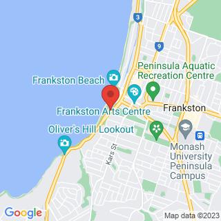 Flyboarding Peninsula Fly Board Location Map