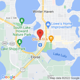 Paintball Winter Haven, FL Location Map