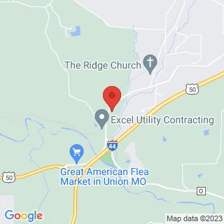 Paintball Villa Ridge, MO, Paintball Location Map