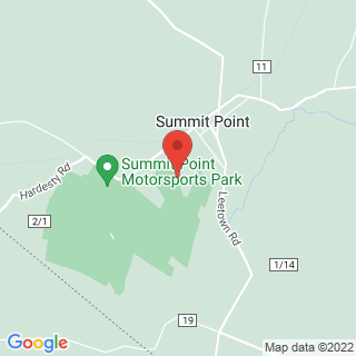 Karting Summit Point, WV, Karting Location Map