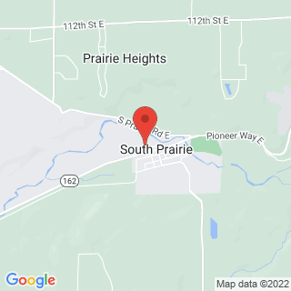 Paintball South Prairie, WA, Paintball Location Map
