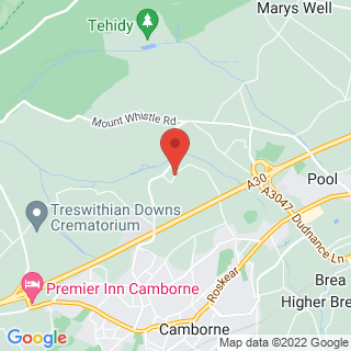 Axe Throwing Redruth Location Map